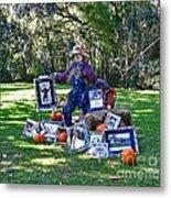 Artie Scarecrow Metal Print