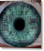 Artificial Intelligence Metal Print by Mike Agliolo