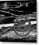 Artillery At Gettysburg Metal Print