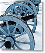 Artillery Metal Print by Olivier Le Queinec