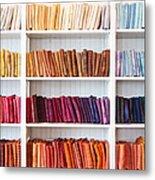 Artisan Linen Shelf Metal Print