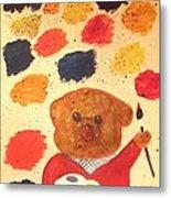 Artisan The Bear Metal Print