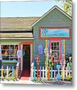 Artist Gallery In Cambria California  7142 Metal Print