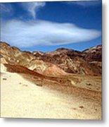 Artist Pallet Death Valley Metal Print