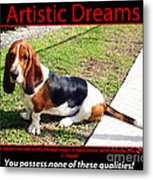 Artistic Dreams Metal Print