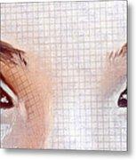 Artistic Eyes Metal Print