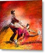 Artistic Roller Skating 02 Metal Print