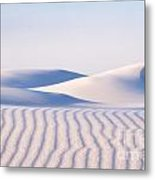 Artistry In The Sand Metal Print