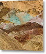 Artist's Paint Palette Abstract Metal Print