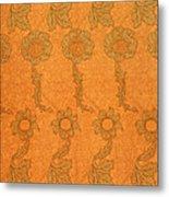Arts And Crafts Design Metal Print by William Morris