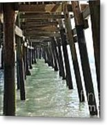 Long Walk Short Pier Metal Print