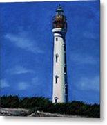 Aruba Light House Metal Print