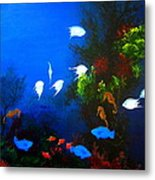Aruba Reef Metal Print