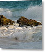 Aruba Spray Metal Print