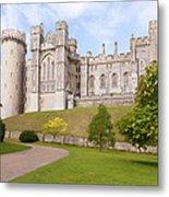 Arundel Castle West Sussex Metal Print