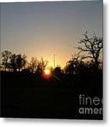 Arundel Sunset Metal Print