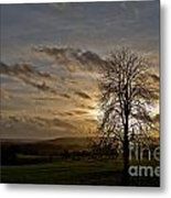 As Clouds Pass By Metal Print