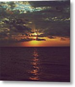 As Day Turns Into Night Metal Print by Laurie Search