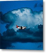 As High As The Clouds Metal Print by Lisa Cortez