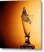 As Light As A Butterfly Metal Print
