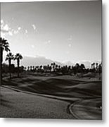 As Shadows Spread Across The Land Metal Print
