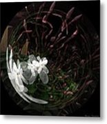 As Wood Nymphs Frolic Metal Print