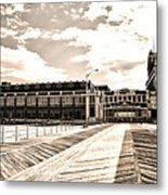 Asbury Park Boardwalk And Convention Center Metal Print