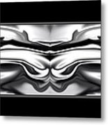 Ascension Angel Abstract Metal Print