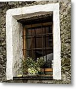 Ascona Window Metal Print