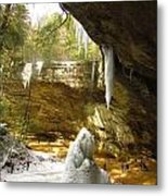 Ash Cave Metal Print by Andrea Dale
