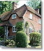 Ashers Farmhouse Five Bells Lane Nether Wallop Metal Print