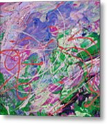 Ashes In The Wind Metal Print