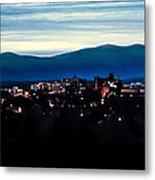Asheville Skyline Metal Print