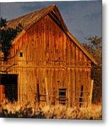 Ashland Barn In Evening Light Metal Print