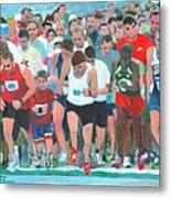 Ashland Half Marathon Metal Print