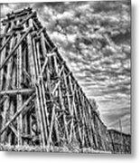 Ashland Ore Dock Metal Print