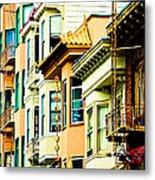 Asia Town Metal Print