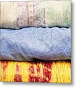 Asian Cloths Metal Print