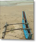 Asian Fishing Boat Metal Print