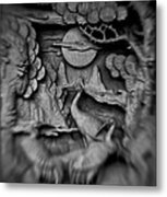 Asian Intricacy Metal Print
