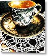 Asian Teaware Metal Print