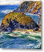 Aspargus Island Metal Print