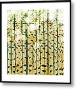 Aspen Colorado Abstract Square 3 Metal Print