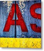 ASS Metal Print