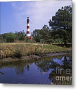 Assateague Lighthouse - Fm000081 Metal Print