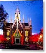 Assembly Hall Slc Temple Metal Print by La Rae  Roberts