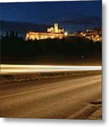 Assisi By Night Metal Print