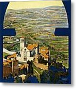 Assisi Italy Metal Print by Georgia Fowler