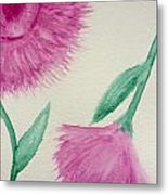 Aster In The Pink Metal Print