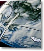 Aston Martin Hood Emblem 4 Metal Print